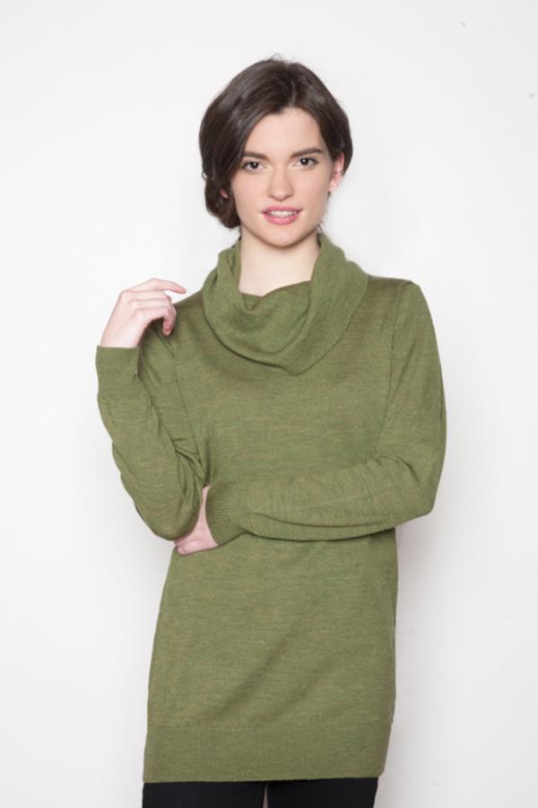 womens-green-cowl-sweater