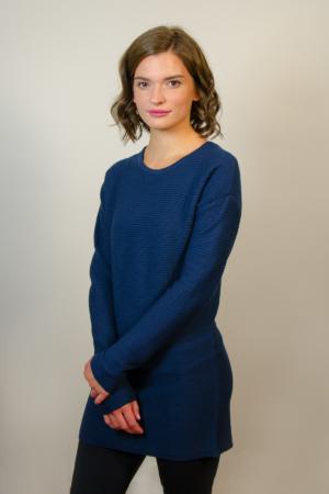 womens-blue-tunic-dress