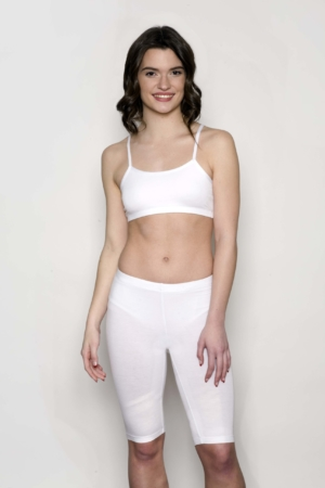 white-yoga-bra-support-short-bamboo